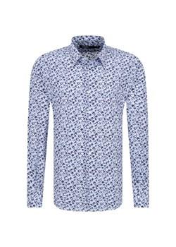 Koszula męska biała H&M w stylu młodzieżowym w abstrakcyjnym  Erhg0