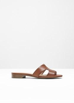 dobra sprzedaż szczegóły wyglądają dobrze wyprzedaż buty Klapki damskie Bonprix brązowe