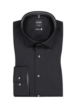 Koszula wydłużana z suwakiem na plecach |BIAŁA| |linia  oy762