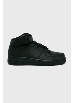 Buty sportowe męskie Nike air force czarne sznurowane w Domodi