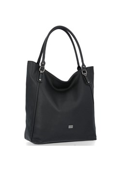 Shopper bag David Jones na ramię elegancka matowa