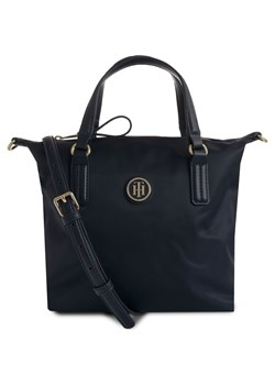 Shopper bag czarna Tommy Hilfiger do ręki