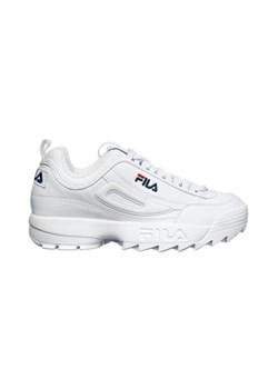 Biale sneakersy damskie Fila 1821010