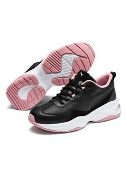 Buty sportowe damskie Puma czarne bez wzorów