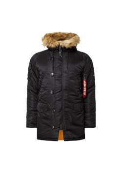 Parka Alpha Industries casual bez wzorów