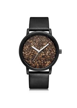 Minimalistyczny zegarek SK na czarnym pasku Sklep
