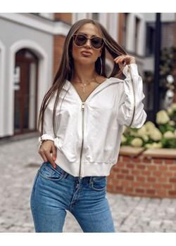 bluza vans damska biała-srebrna