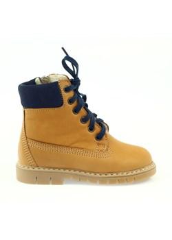 Buty zimowe dziecięce Bartuś bez wzorów sznurowane trapery
