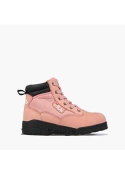 Różowe buty damskie fila, wiosna 2020 w Domodi