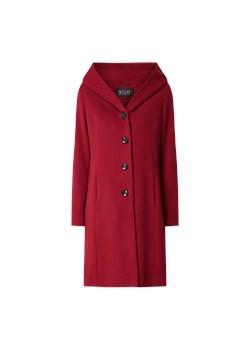 Czerwony płaszcz damski Hugo Boss casualowy