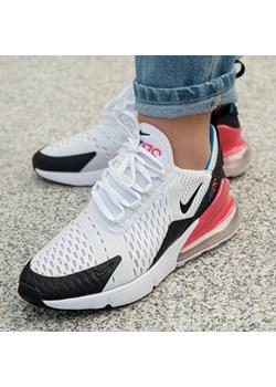 gorące nowe produkty ogromny wybór taniej Buty sportowe damskie białe Nike do biegania bez wzorów