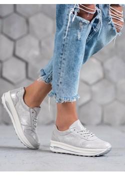 Różowe buty sportowe damskie adidas iniki, jesień 2019 w Domodi
