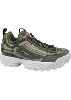 Zielone buty damskie fila, wiosna 2020 w Domodi