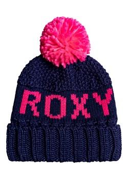 Granatowe czapki damskie roxy, wiosna 2020 w Domodi