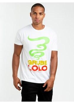 renomowana strona dobra jakość sklep internetowy T-shirty męskie grube lolo, zima 2019 w Domodi