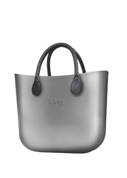 Shopper bag srebrna O Bag