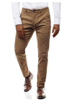 kod promocyjny wyprzedaż rozmiar 40 Spodnie chinos męskie, zima 2019 w Domodi