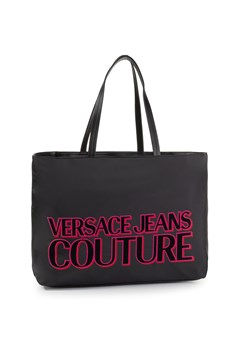 Shopper bag czarna Versace Jeans
