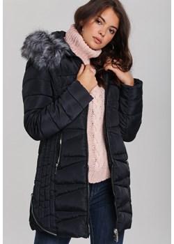 Granatowe kurtki damskie renee odzież, zima 2019 w Domodi