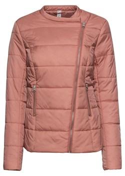 Różowe kurtki pikowane bonprix, wiosna 2020 w Domodi