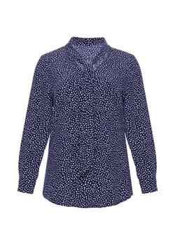 Niebieskie koszule damskie modne duże rozmiary, lato 2020 w  wYaMJ