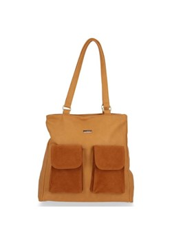 Shopper bag Conci zamszowa