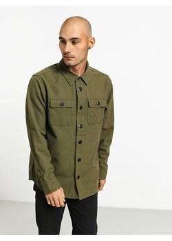Cropp Koszula w militarnym stylu Khaki zielony w Domodi  TnVDW