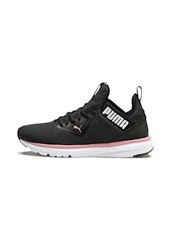 Buty sportowe damskie niebieskie Nike do biegania płaskie sznurowane z tworzywa sztucznego