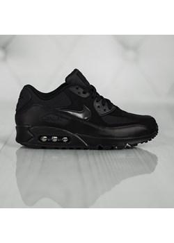 Czarne buty do biegania męskie nike nike air max 90, zima