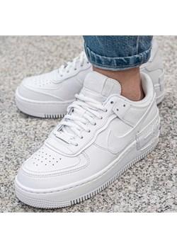 Buty sportowe damskie Nike dla biegaczy air force wiązane bez wzorów