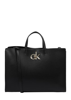 Shopper bag Calvin Klein skórzana
