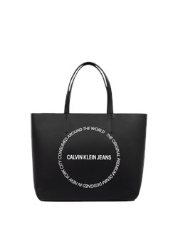 Shopper bag Calvin Klein czarna