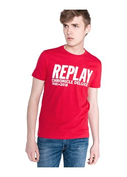 T-shirt męski Replay