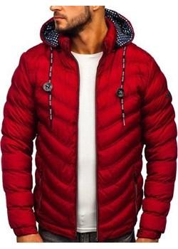 Czerwone kurtki męskie denley, zima 2020 w Domodi