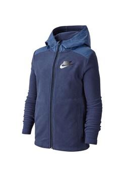 Bluza polarowa chłopięca Sportswear Winterized Nike (granat