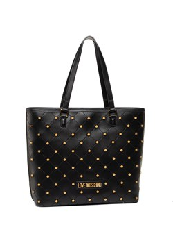 Shopper bag Love Moschino ze zdobieniami