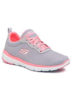 Buty sportowe damskie Adidas do biegania wiązane gładkie skórzane