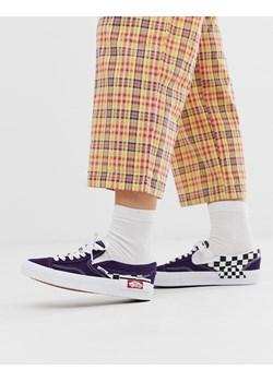 Fioletowe tenisówki damskie vans, wiosna 2020 w Domodi