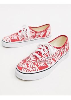 Vans buty – Half CAB Pro – Black White Red, kolor: czarny