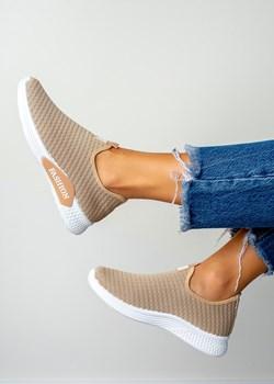 Brązowe buty sportowe damskie, wiosna 2020 w Domodi