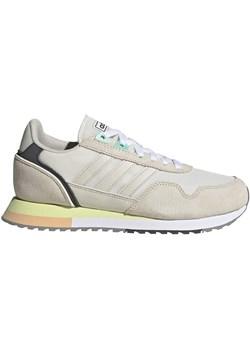 Buty sportowe damskie Adidas skórzane sznurowane w Domodi