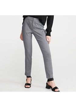 Spodnie cygaretki damskie reserved, wiosna 2020 w Domodi