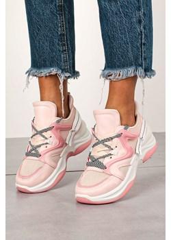 Różowe buty sportowe damskie dolce moda, wiosna 2020 w Domodi