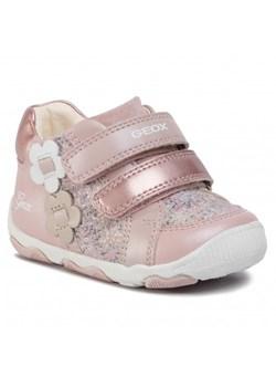 Różowe buty dziecięce geox, wyprzedaż, wiosna 2020 w Domodi