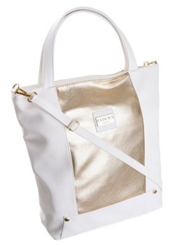 Shopper bag BADURA - Skorzany