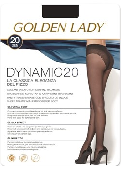 Rajstopy Golden Lady z lycry