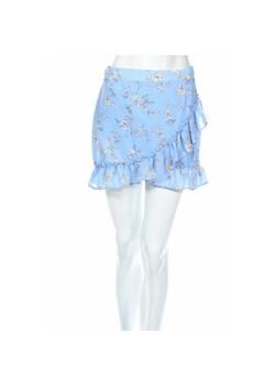 Mohito Patchworkowa spódnica z denimu Niebieski damska