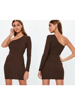 Sukienka Missguided gładka mini