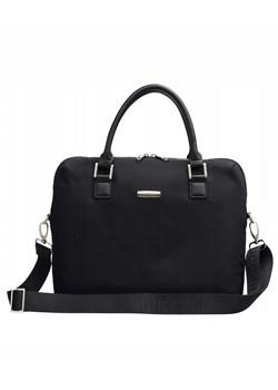 Czarne torby na laptopa damskie, lato 2020 w Domodi