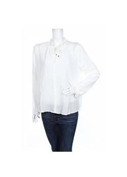 Zalando Collection Bluzka biały Bluzki luźne Odcienie beżu i